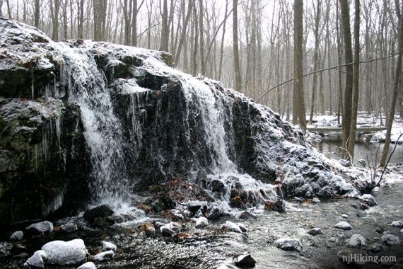 Turkey Mountain waterfall