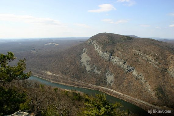 View from Mt. Tammany in March