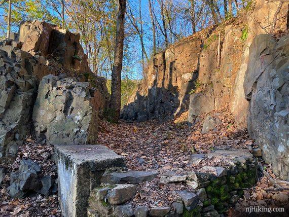 Basalt at Watchung Reservation