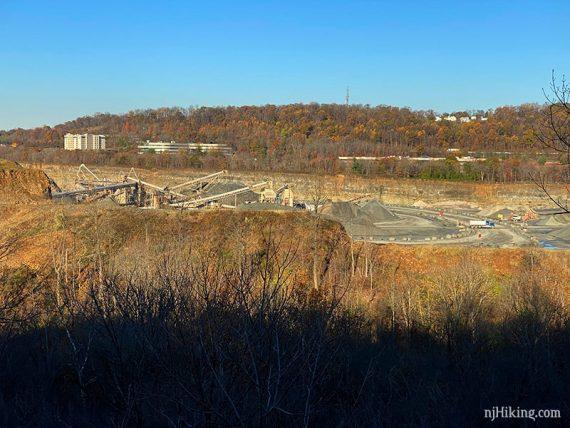 Quarry overlook
