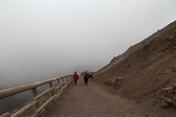 Path up Mt. Vesuvius
