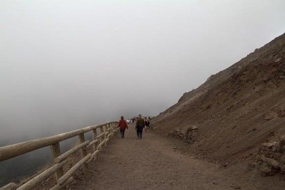 Path up Mt. Vesuvius