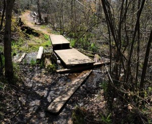 Grant will help group repair parvin trails for Parvin state park cabin pictures