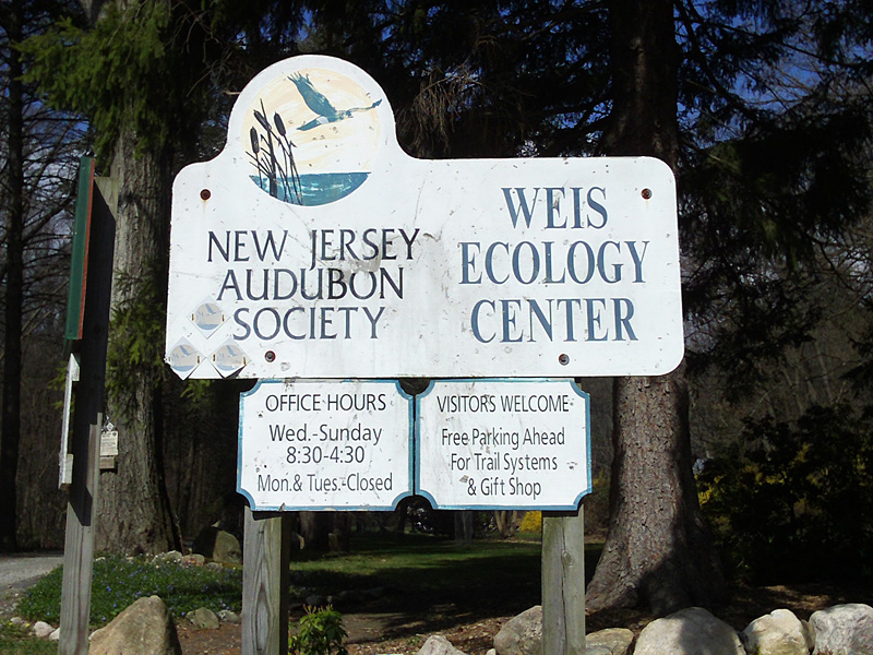 Weis Ecology Center Sign