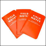 Wateproof Field Notes