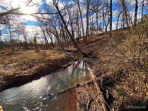 Six Mile Run stream