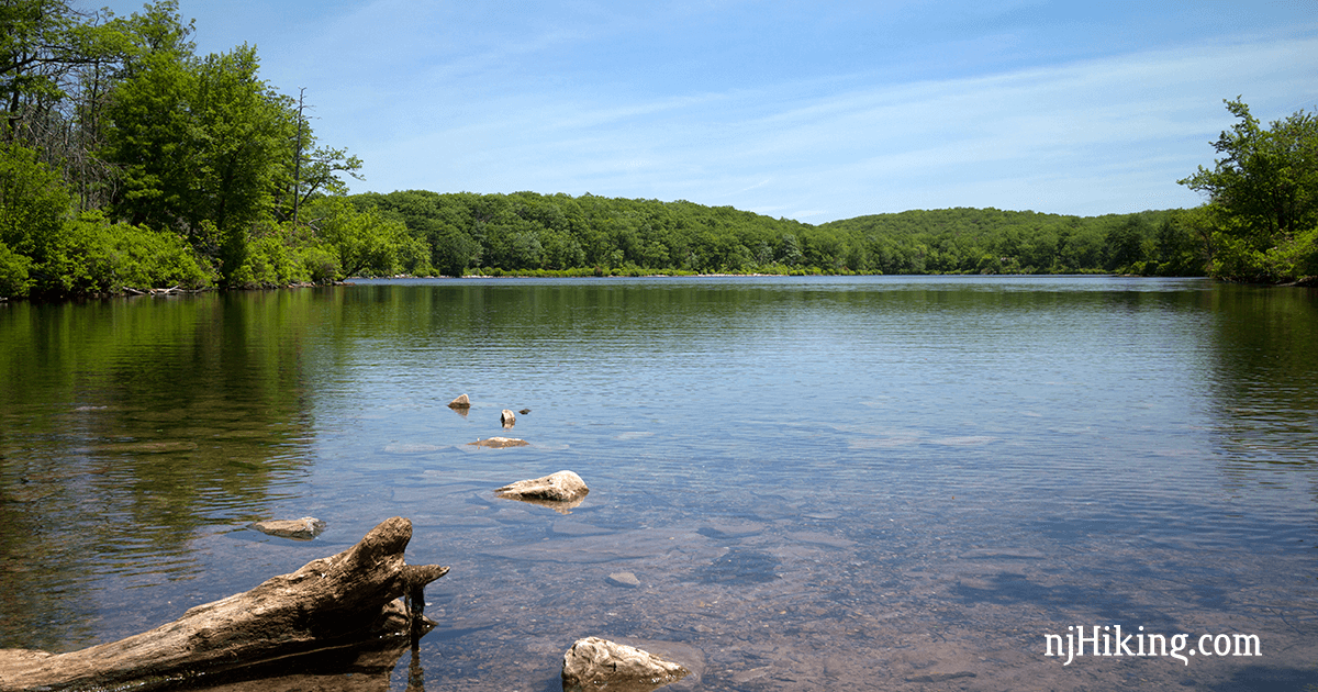 Hike Through Some Of The Prettiest Forest In New Jersey And Arrive At Sunfish Pond A Glacial Lake 1 000 Feet Above Surrounding Area