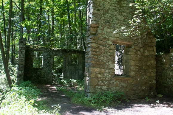 We Took A Side Trip To The Ruins Of Kay S Cottage Where There Is Small Dam