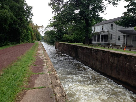 D&R Canal - 10 Mile Lock