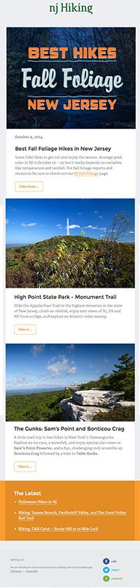 NJ Hiking Newsletter