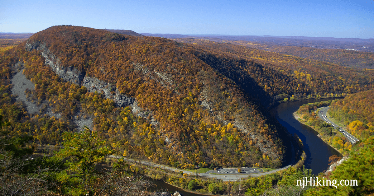 The Trail Heads Steeply Uphill To A Fantastic Overlook Of Gap Break In Kittatinny Mountains That Was Carved By Delaware River