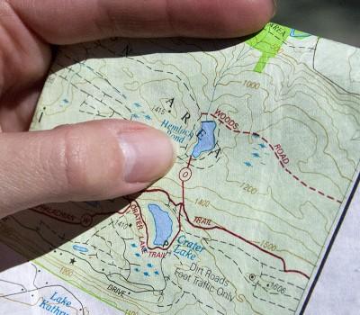 NJ Hiking Trail Maps