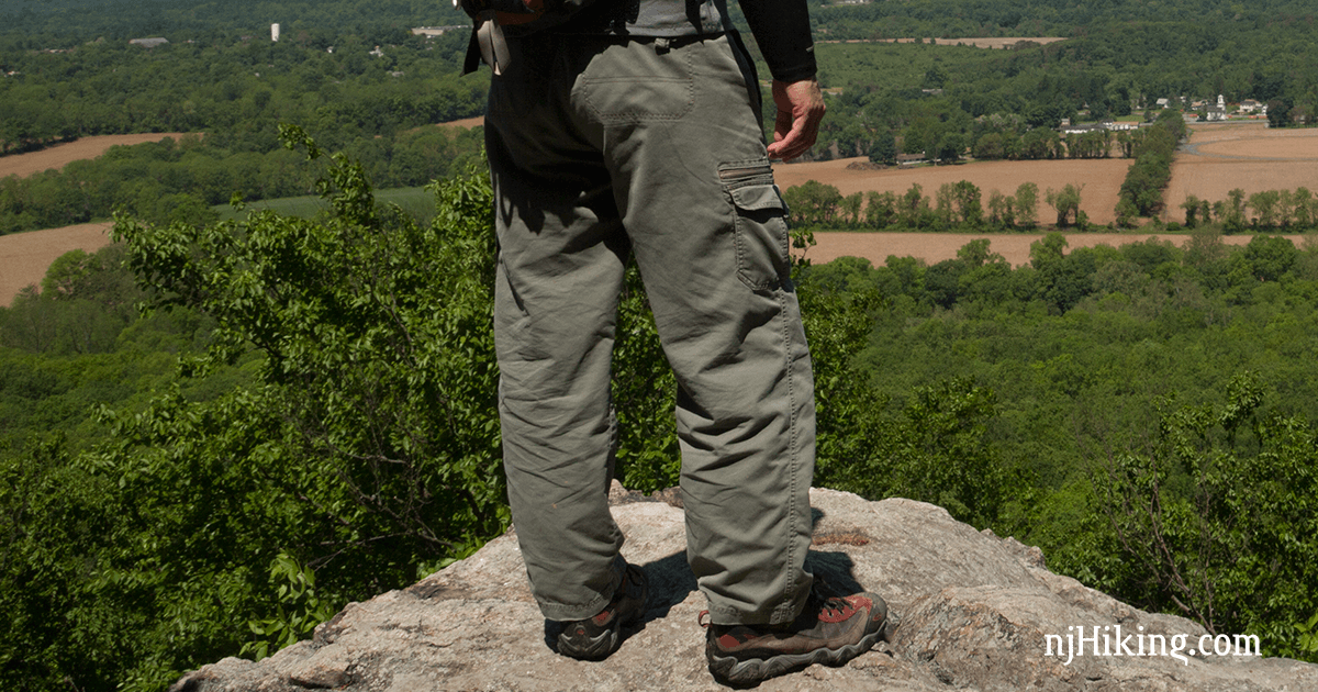 hiking and shorts njhiking