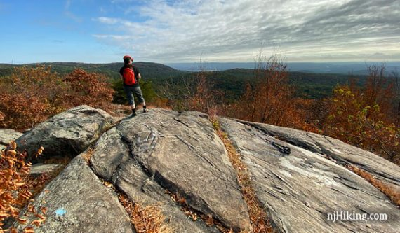 View from Osio Rock