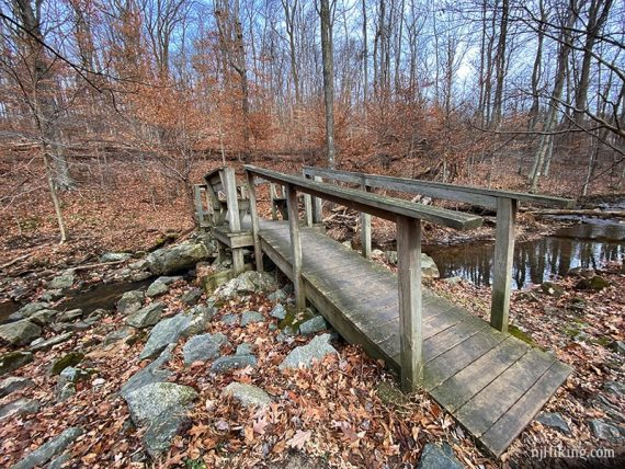 Footbridge over Merrill Creek
