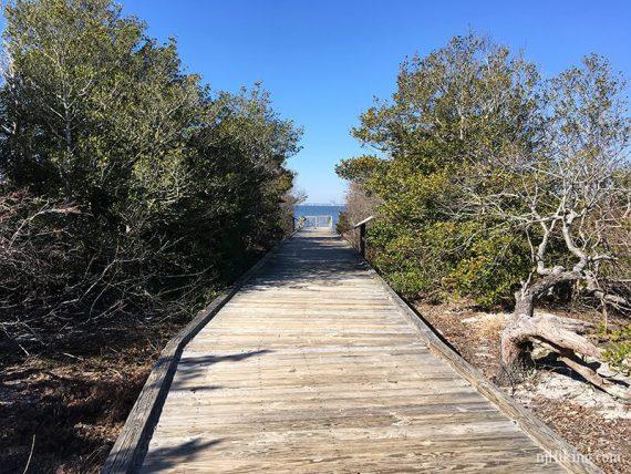 Island Beach - Fisherman's Walkway