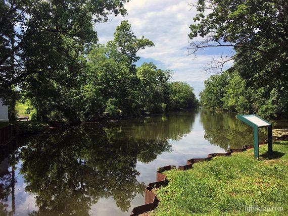 10 Mile Lock, looking south