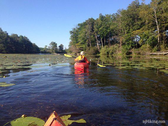 Wawayanda Lake Kayak   njHiking com