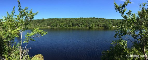 Wide view of Surprise Lake