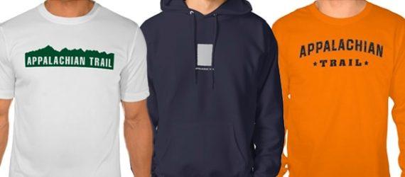 Appalachian Trail designs on shirts
