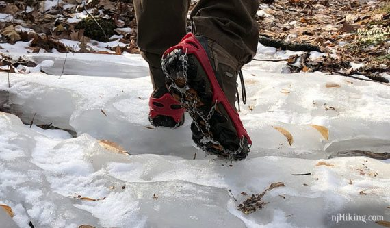 Hiking Traction Devices