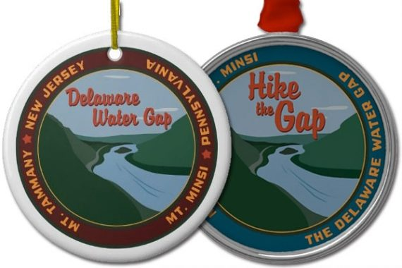Delaware Water Gap and Hike The Gap Ornaments
