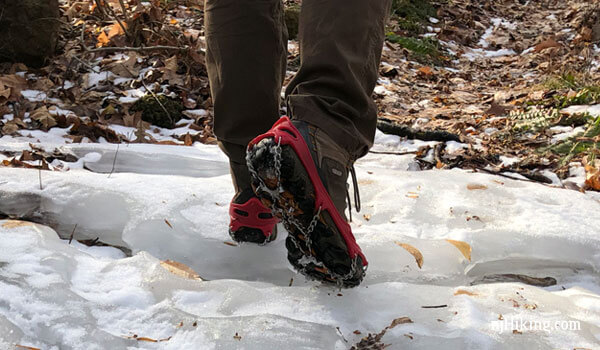 Review – Hiking Traction Devices