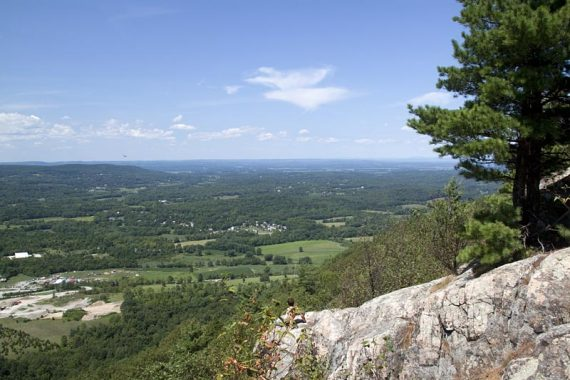 View from Pinwheel Vista