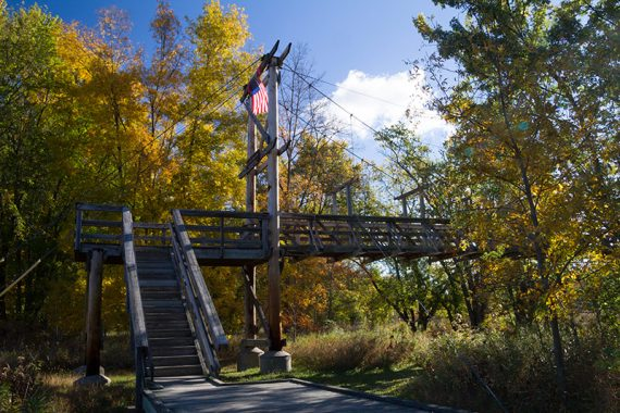 Pochuck Suspension Bridge