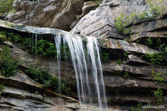 Awosting Falls close up.