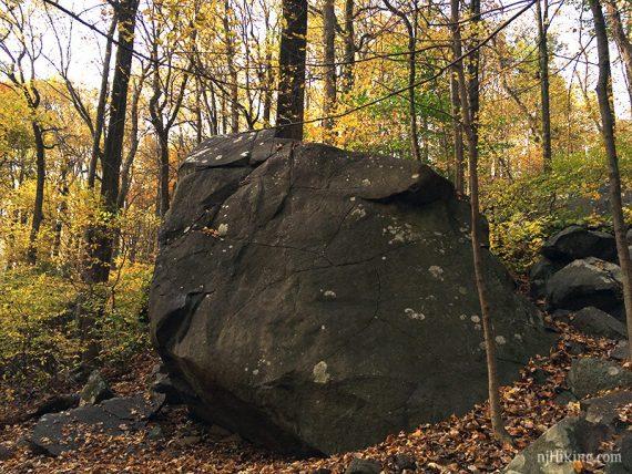 Ridge Trail thru Devil's Half Acre Boulders