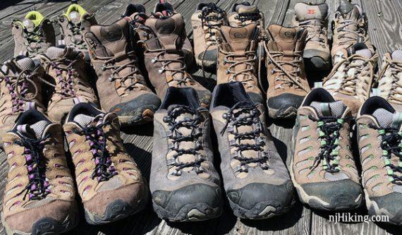 Hiking Footwear   njHiking.com
