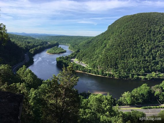 View of the Delaware Water Gap