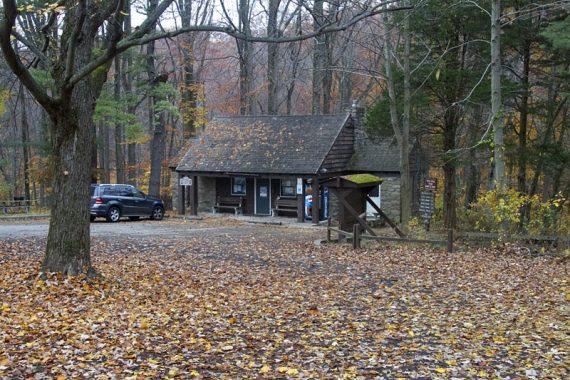 Hacklebarney State Park trailhead