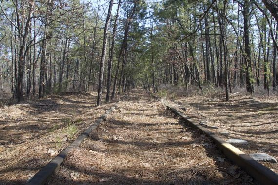 Cross railroad tracks