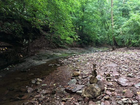 Fiddlers Creek rocky shore