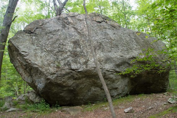 Front of Bear Rock