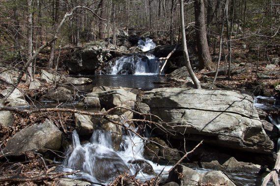 Waterfall on Apshawa Brook