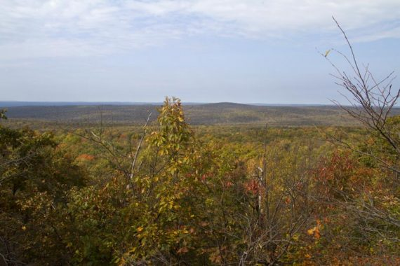 Viewpoint on Blue Mountain trail