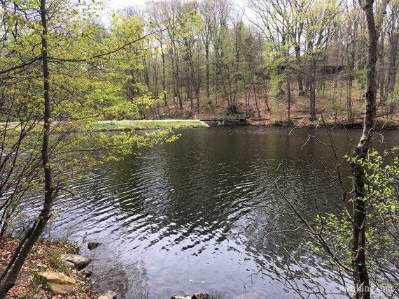 Dam on Lake George