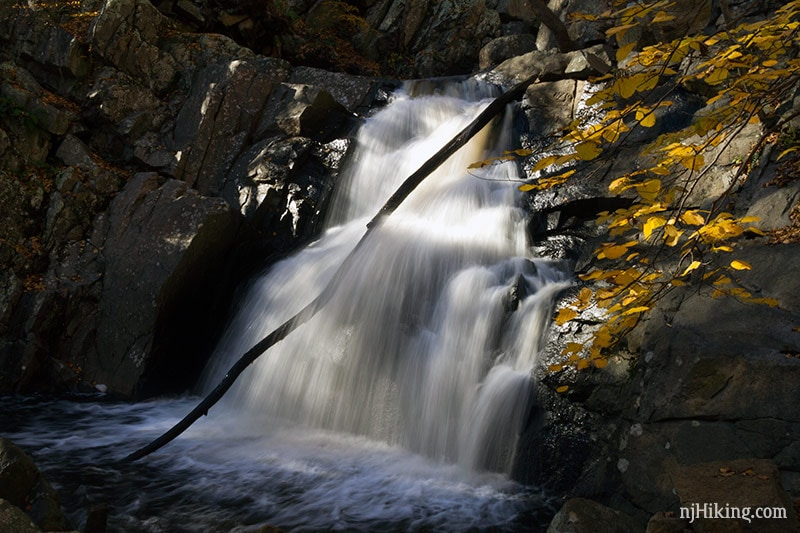 waterfall at Schooley's Mountain - Morris County