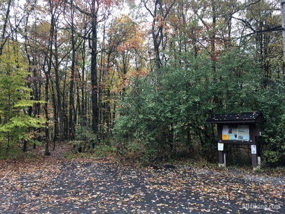 Culvers Gap Appalachian Trail kiosk