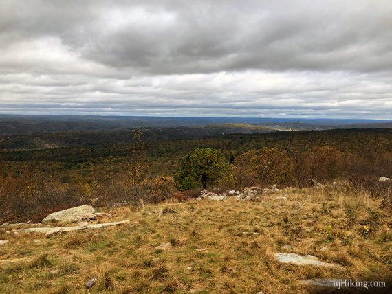 Blue Mountain summit, looking west over NJ into PA
