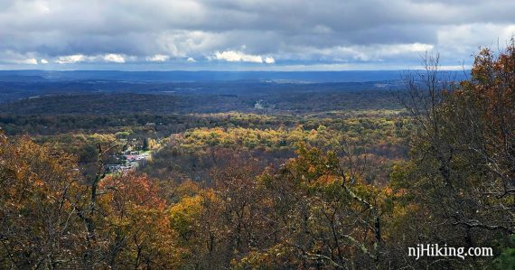 View over Culvers Gap