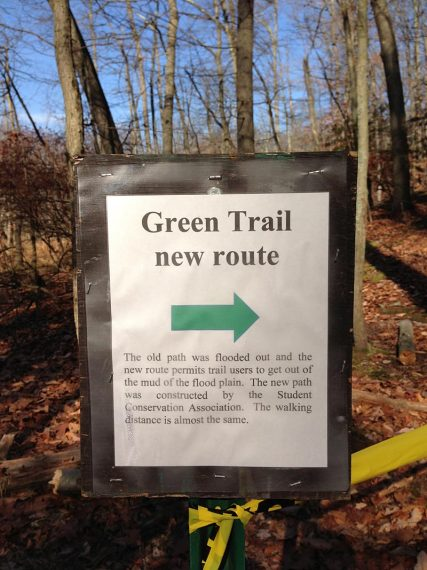 New section of the GREEN trail