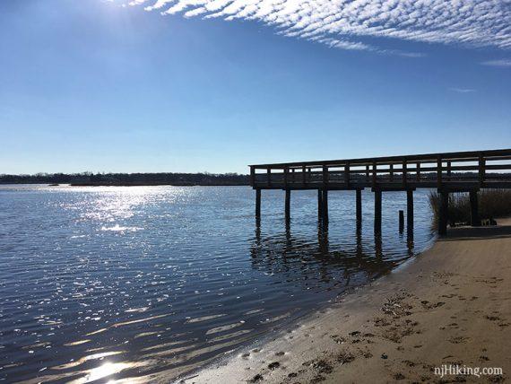 Black Fish Cove pier