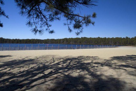 Lake Absegami beach
