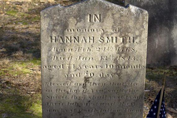 Hannah Smith gravesite