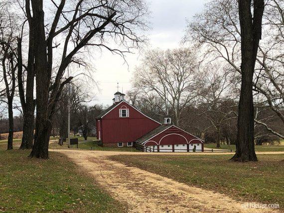 Bayonet Farm - Red Barn