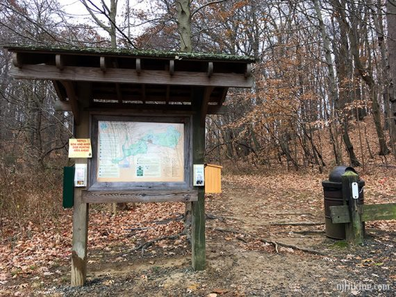 Ramanessin and Steeplechase trailhead